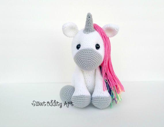 Unicorn Crochet Pattern, Crochet Unicorn, Amigurumi, Crochet