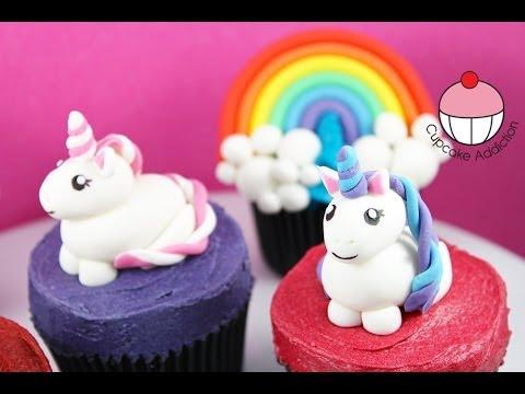 Unicorn Cupcakes! Make Unicorns & Rainbows For Cakes & Cupcakes