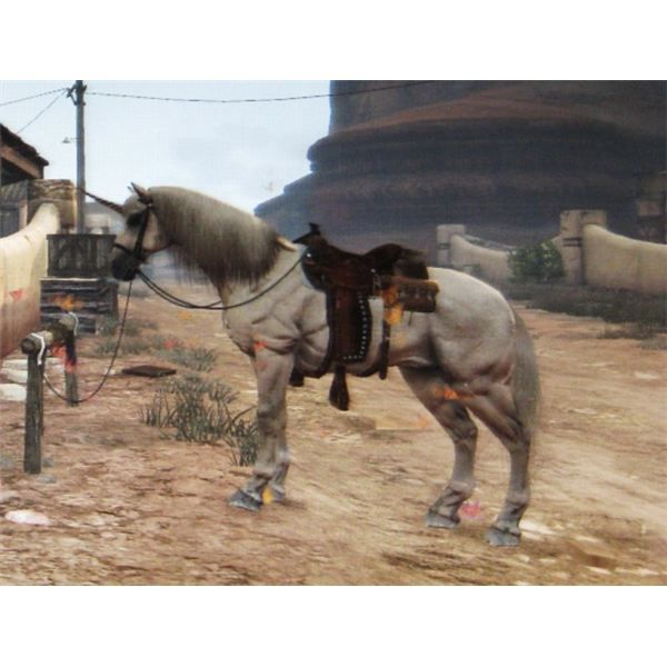 Unicorn From Red Dead Redemption Undead Nightmare