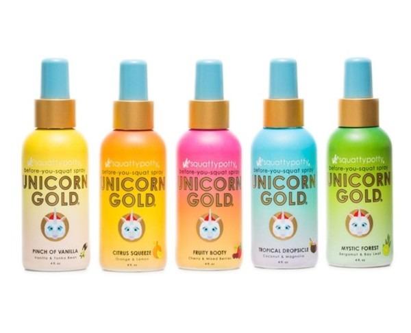 Unicorn Gold Toilet Spray