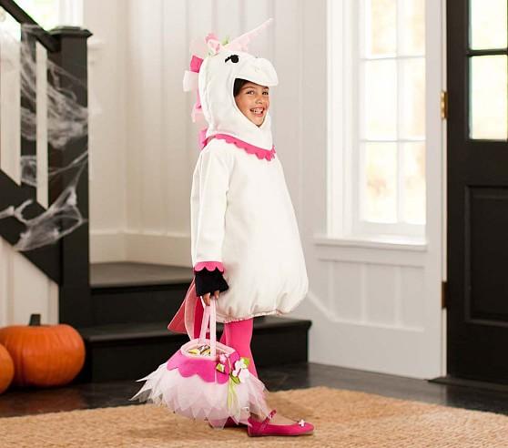 Unicorn Halloween Costume, Size 4