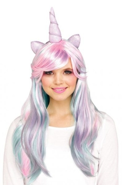 Unicorn Horn Adult Wig (pastel)