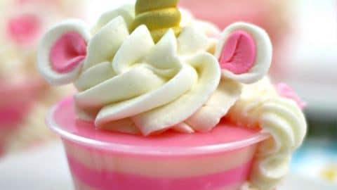 Unicorn Jello Shots Recipe With Bubble Gum Vodka