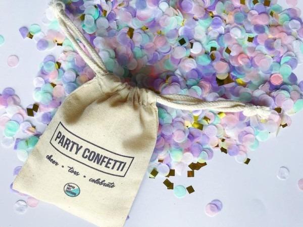 Unicorn Party Confetti Unicorn Poop Table Party Decor