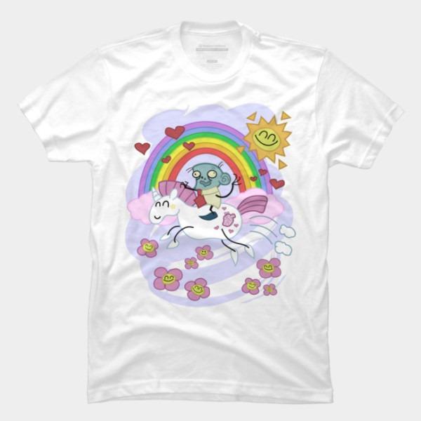 Unicorn Rainbow Ride To Love