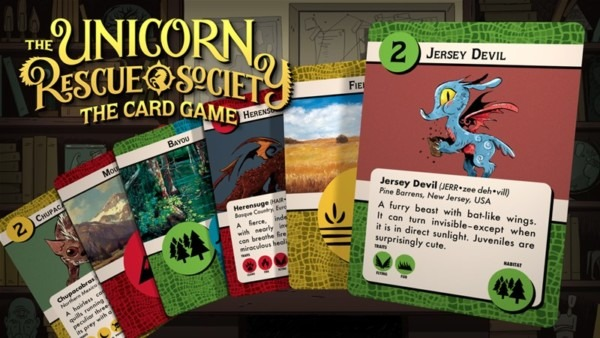 Unicorn Rescue Society  The Card Game Up On Kickstarter