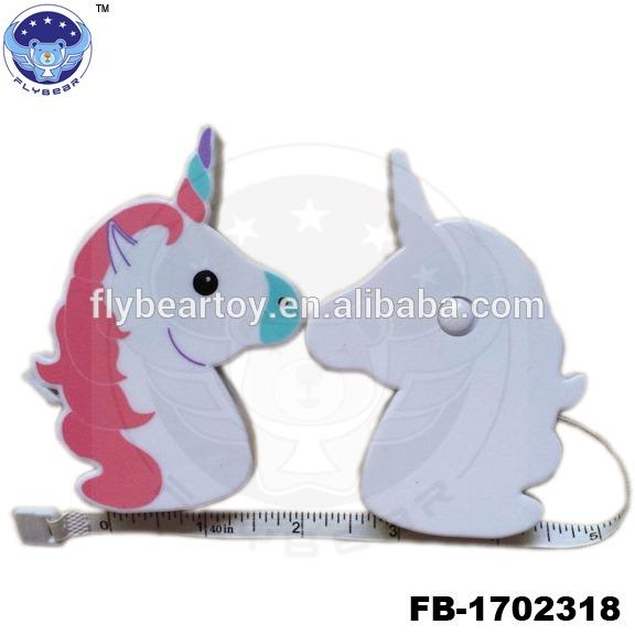 Unicorn Tape Popular Mini Cute Unicorn Animal Shaped Measurement