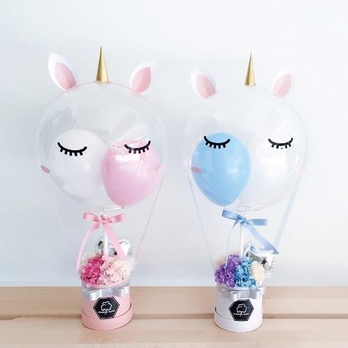 Unicorn Twinkle   Balloon & Flower Box