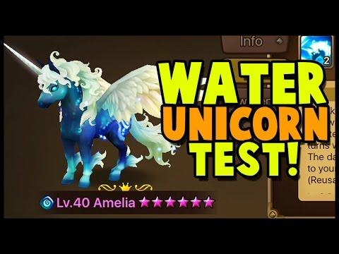 Water Unicorn Test! Using Amelia In Guild War, Toa & Giants B7