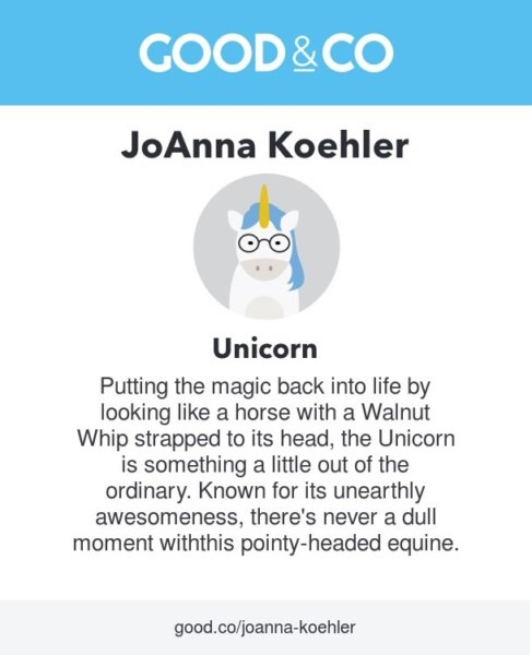 What's Your Spirit Animal  According To Good&co's Personality Quiz