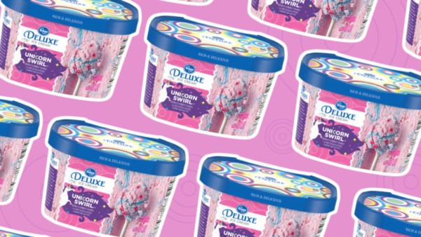 You Have To See Kroger's Unicorn Swirl Ice Cream