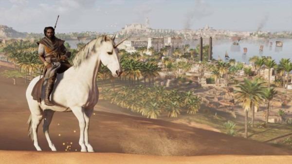 Zo Krijg Je Een Eenhoorn In Assassin's Creed Origins