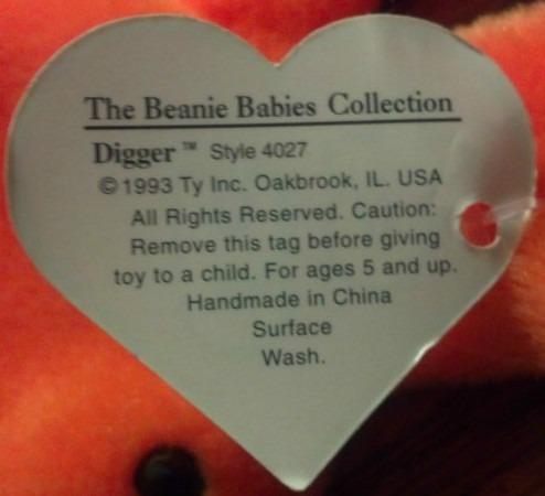 1st Generation Beanie Babies – Love My Beanies