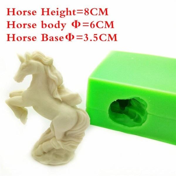3d Unicorn Shape Silicone Cake Mold, Chocolate Mold, Silicone Soap