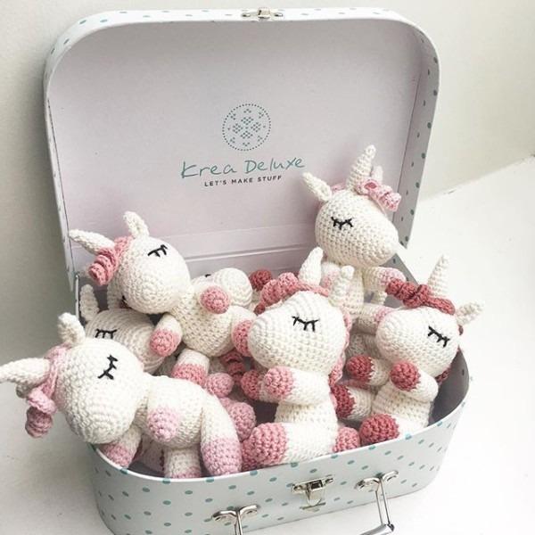 A Suitcase Full Of Little Unicorns  Crochetunicorn