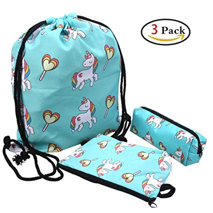 Amazon Com  3 Pack Unicorn Gifts Set, Including Unicorn Drawstring