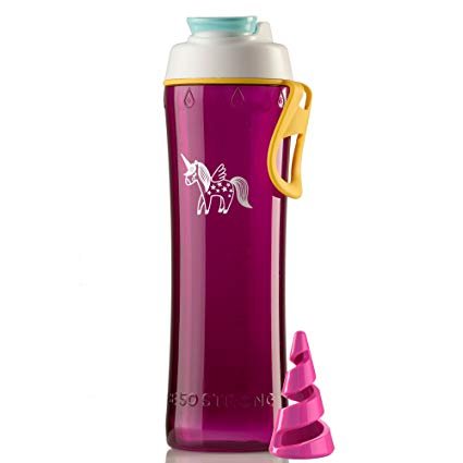 Amazon Com  50 Strong Bpa Free Protein Shaker & Mixer Bottle, 24