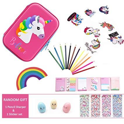 Amazon Com   Cute Unicorn School Supplies For Girls, Unicorn
