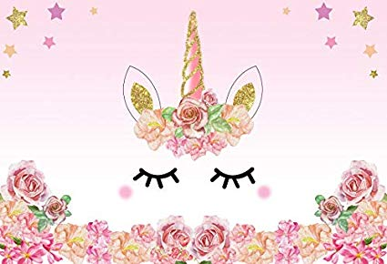 Amazon Com   Lfeey 5x3ft Pink Unicorn Photography Background Baby