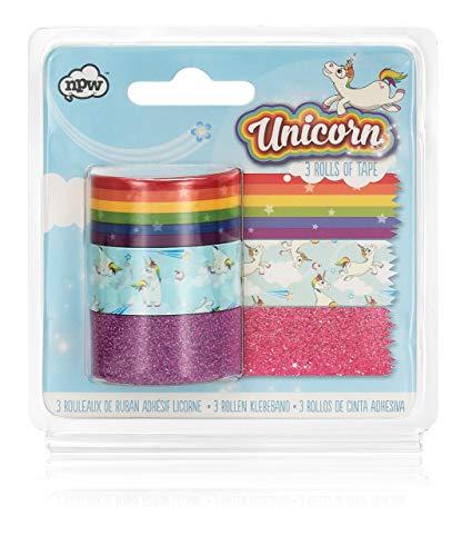Amazon Com   Npw Unicorn Craft Tape Rolls, Set Of 3, Rainbow