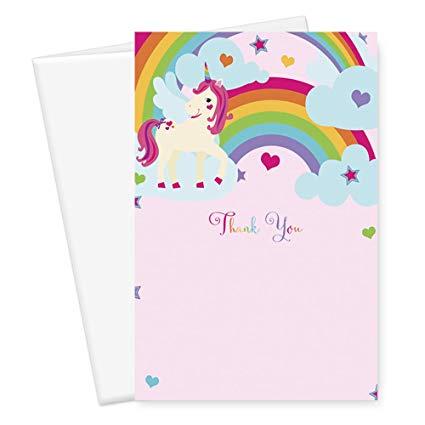 Amazon Com   Unicorn Thank You Cards