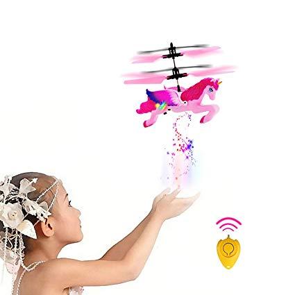 Amazon Com   Wymddym Flying Unicorn Toy Hand Controlled Induction