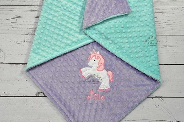 Amazon Com  Baby Blanket Personalized Minky