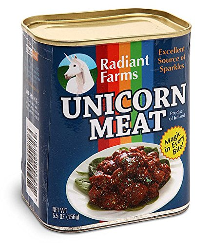 Amazon Com  Close Up Unicorn Meat In A Can  Home & Kitchen