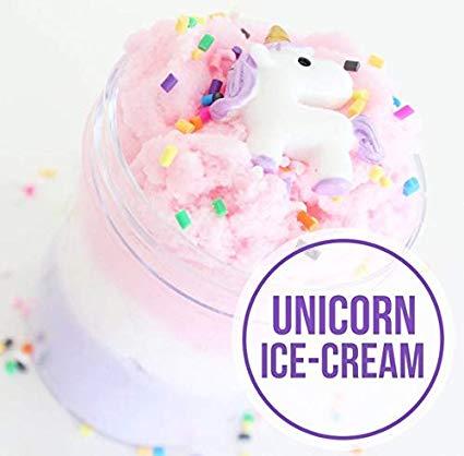 Amazon Com  Easycity Fairy Putty Fluffy Unicorn Cloud Slime