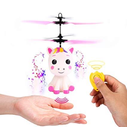 Amazon Com  Flying Unicorn Toys Flying Fairy Toys For Girls Flying