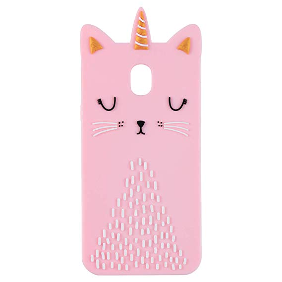 Amazon Com  Funermei Cat Unicorn Case For Samsung J7 2018(j737),j7