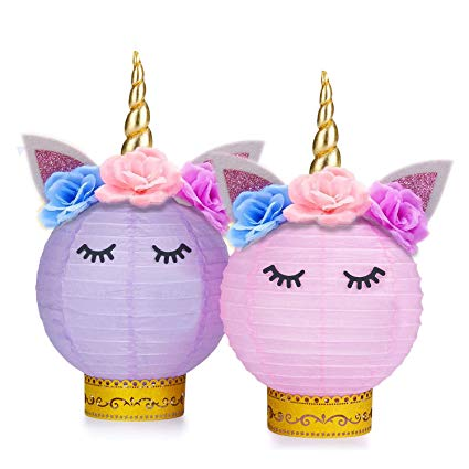 Amazon Com  Grabo Unicorn Party Supplies And Decorations