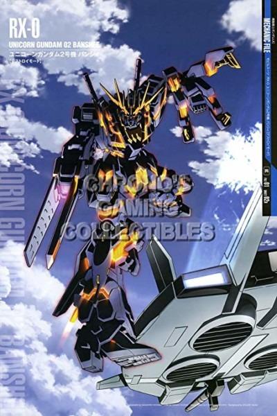 Amazon Com  Gundam Unicorn Cgc Huge Poster Glossy Finish
