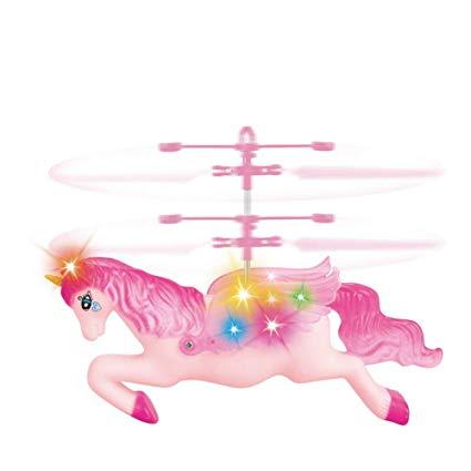 Amazon Com  Jinyu Flying Unicorn Toys Remote Controll And Hand