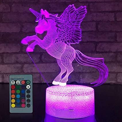 Amazon Com  Jmllyco Unicorn Night Light Unicorn Gifts 16 Colors