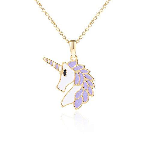 Amazon Com  Lanqueen Unicorn Jewelry Pendant Necklace For Little