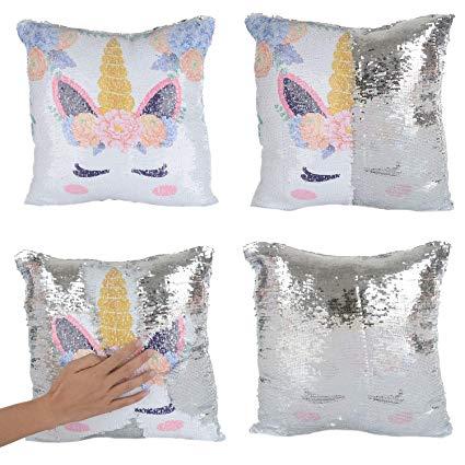 Amazon Com  Merrycolor Mermaid Pillow Cover, Unicorn Pillow Case