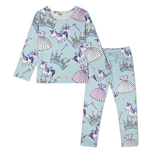 Amazon Com  Modaioo Girls Unicorn Dinosaur Mermaid Pajamas Kids