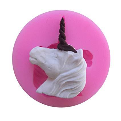 Amazon Com  Mr S Shop 3d Unicorn Silicone Mold Soap Chocolate