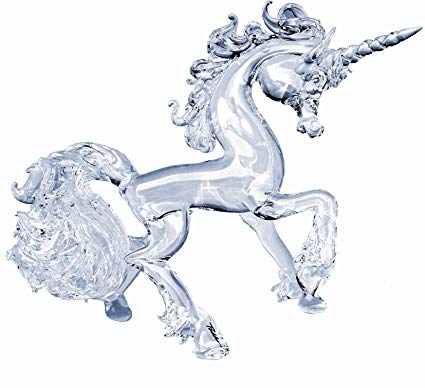 Amazon Com  Prochaska Gallery Hand Blown Glass Unicorn Prancing