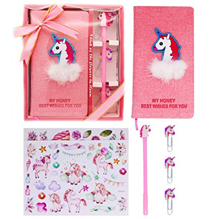 Amazon Com  Sgift Unicorn Notebook With Pen, Unicorn Journal Gel