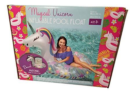Amazon Com  Sun Pleasure Magical Unicorn Pool Float With Bonus