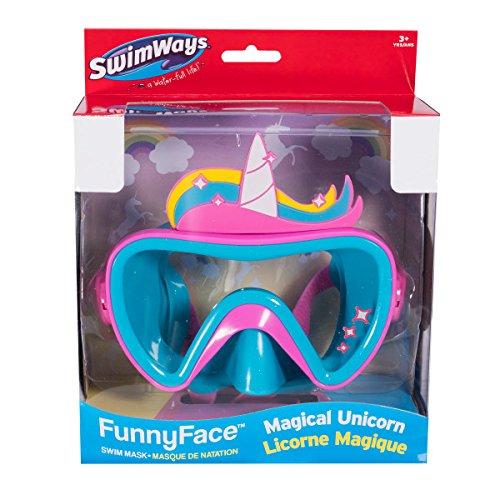 Amazon Com  Swimways 6047311 Funny Face Swim Mask, Unicorn  Toys