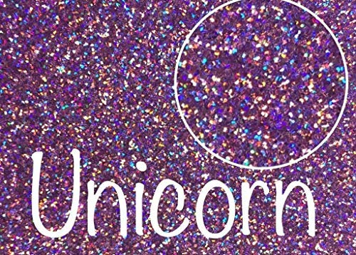 Amazon Com  Unicorn, Extra Fine Holographic Glitter 1 128, 4oz