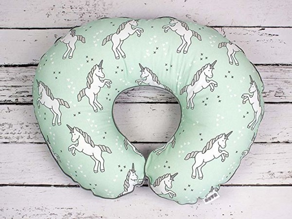 Amazon Com  Unicorn Nursing Pillow Cover Handmade Cotton Minky