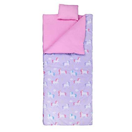 Amazon Com  Wildkin Sleeping Bag, Unicorn  Toys & Games