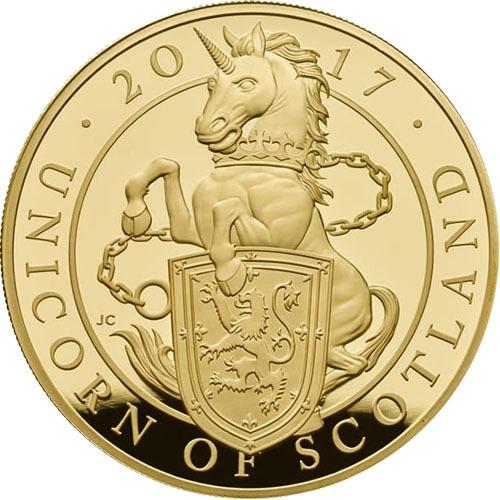 Scottish Unicorn Coin For Sale
