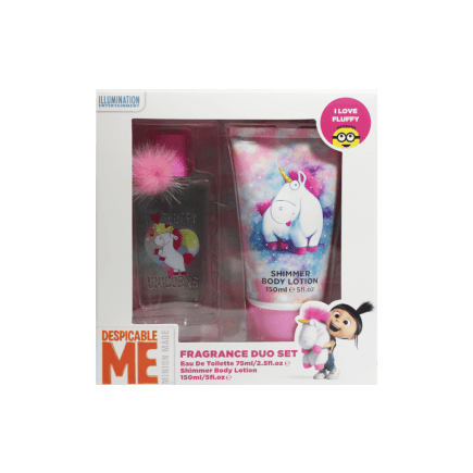 Buy Despicable Me I Love Fluffy Unicorns Fragrance Duo Set Online