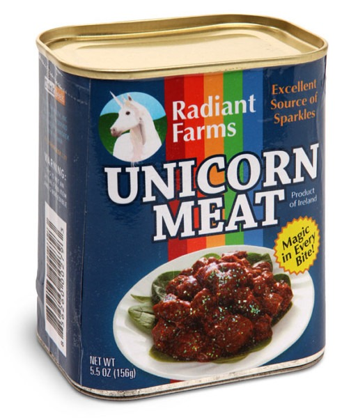 Canned Unicorn Meat  A New Sparkly Taste Sensation