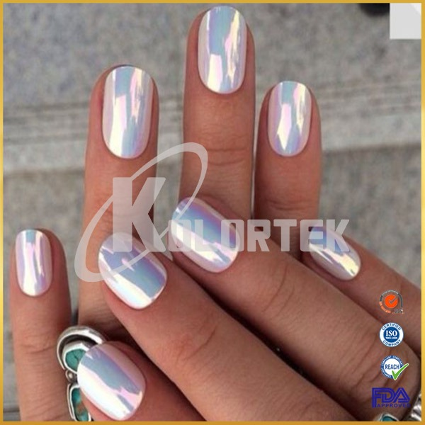 Chrome Effect Fairy Dust Unicorn Powder For Nail Paint,aurora